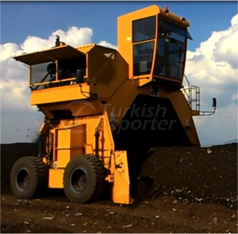 Mobile Windrow Turner