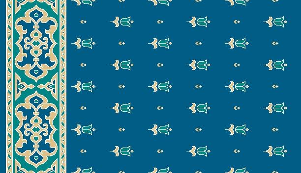 Mosque Carpet S0426A