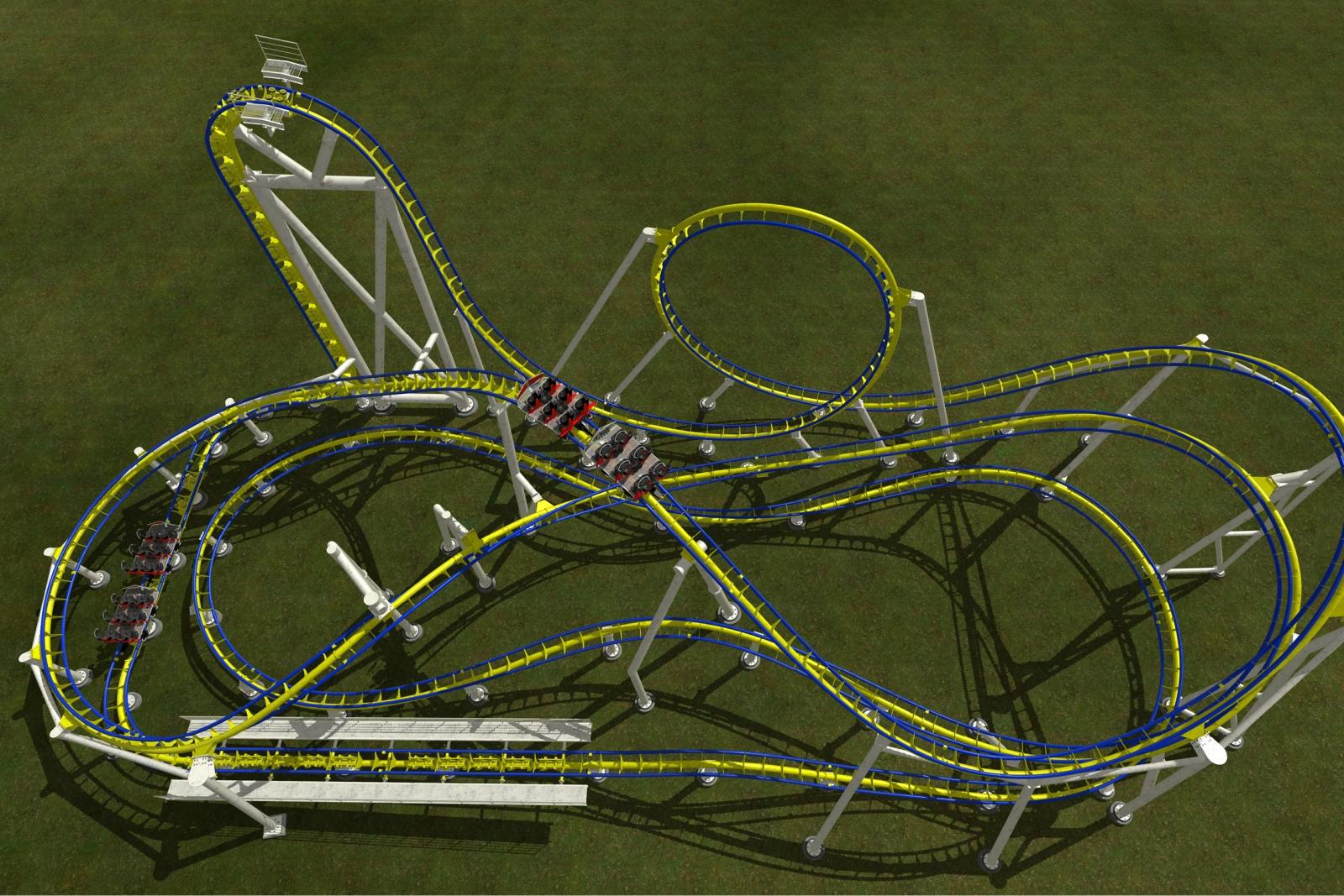 Mega Roller Coaster