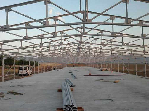 Steel Roof Construction