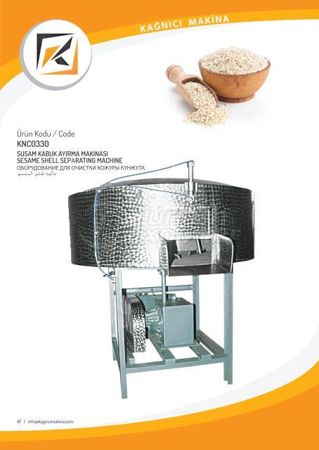 Sesame shell seperating machine