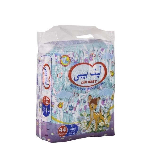 Baby Diapers Mini 44 pcs