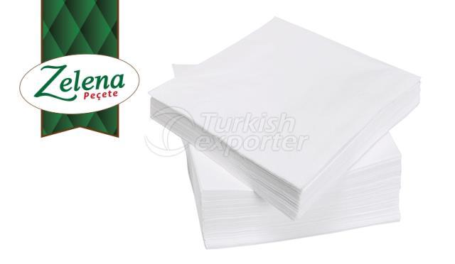 Guardanapos de papel de mesa extra Zelena