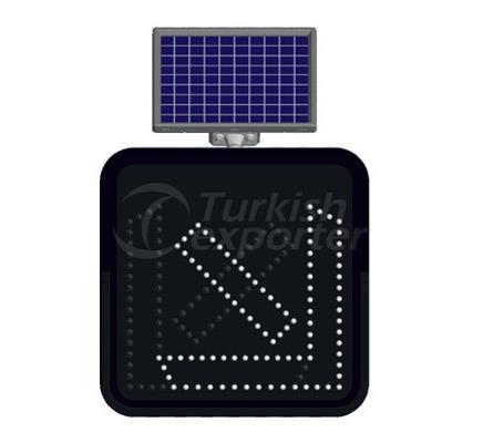 Solar Road Maintenance Led Signs   11820FL