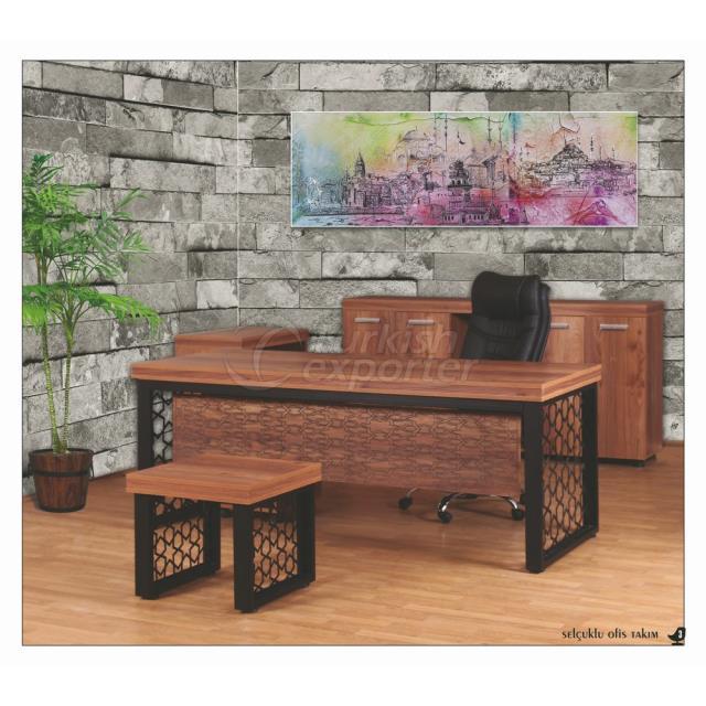 Office Table Set - Selcuklu