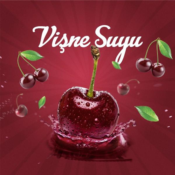 Jugo de cereza amarga