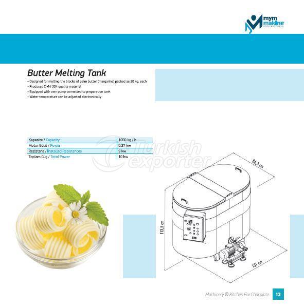 Butter Melting Tank