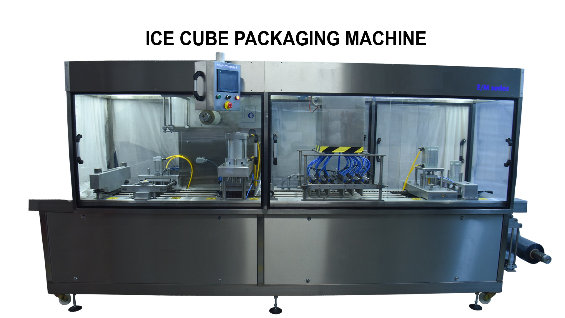 Ice cube packaging machine