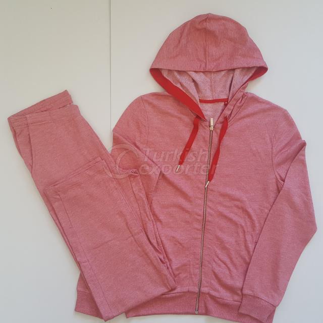 AY-BP-002 Ladies Hooded Track Suits