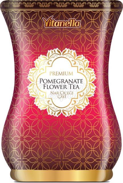 Цветочный чай граната