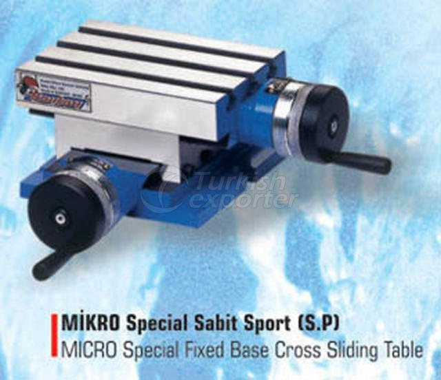 Micro Special Fixed Base Cross Sliding Tables