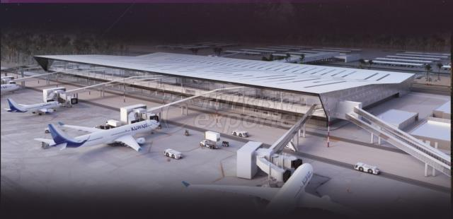 Kuwait Airport Terminal-A Construction
