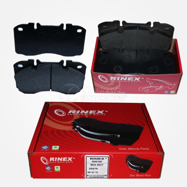 Disc Brake Pads -Iveco Eurocargo