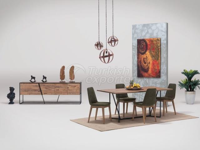 غرفة الطعام سيينا
