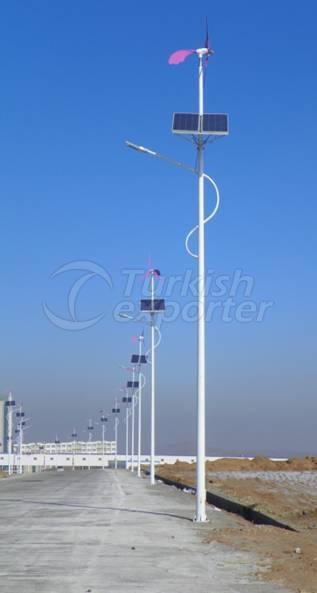 70w Wind solar street lights