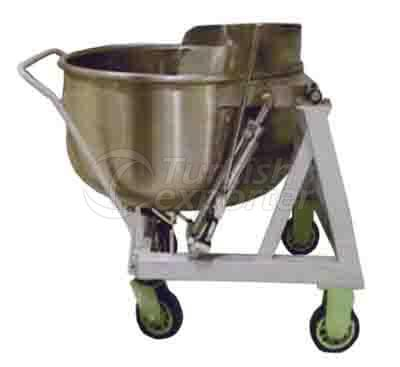 Rice Carrying and Waiting Cauldron