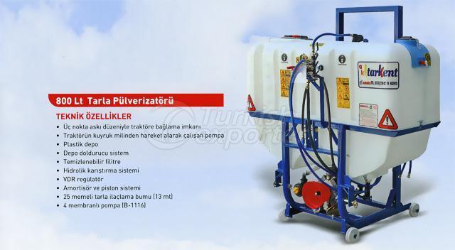 field sprayer 800 lt