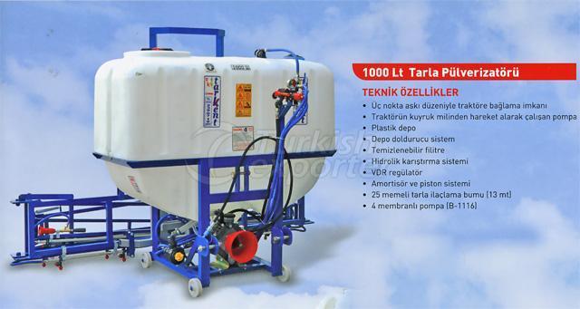 field sprayer 1000 lt