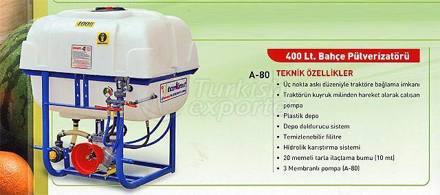 garden sprayer 400 lt