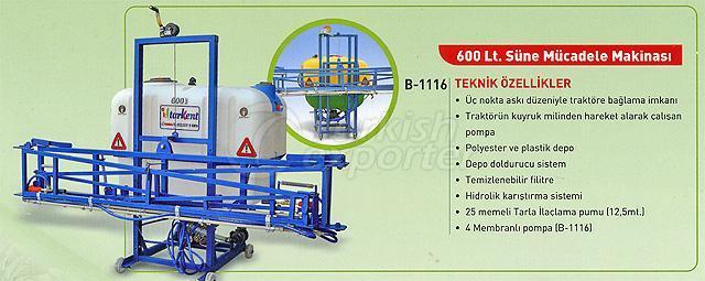 sunn pest fighting machine 600 lt