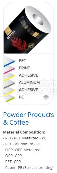 Powder and Coffee Products Packing
