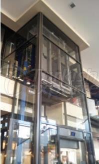Glass Touch Elevator Panels