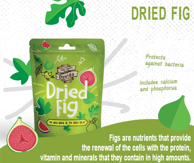 Dried Fig 200g Doypack