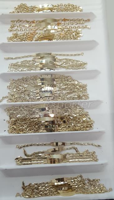 Gold Children Wristband