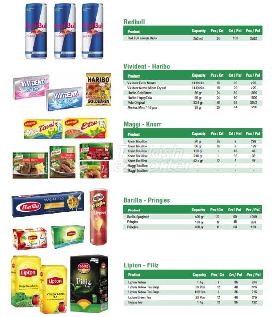 Lipton - Redbull - Knorr