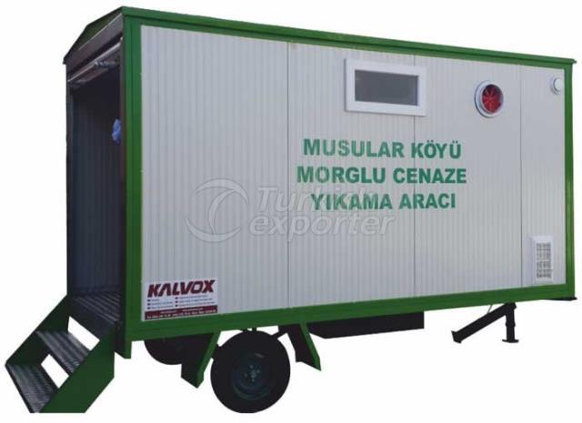 Funeral Washing Vehicle