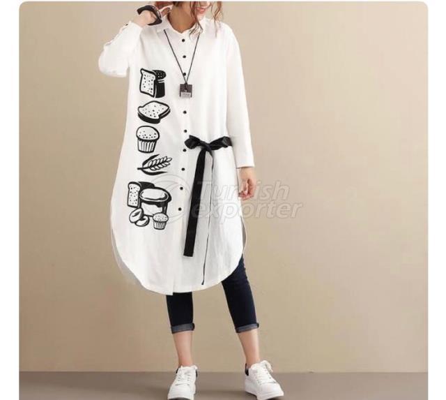 White Design Sport Dress