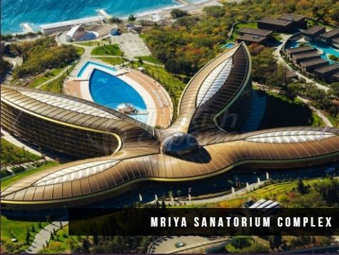 Mriya Sanatorium Complex Construction