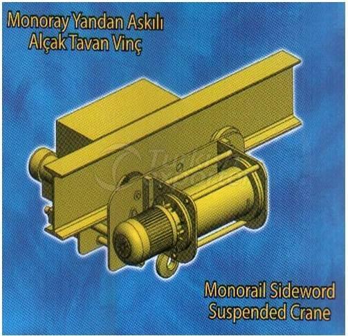 Monorail Sideword Suspended Crane