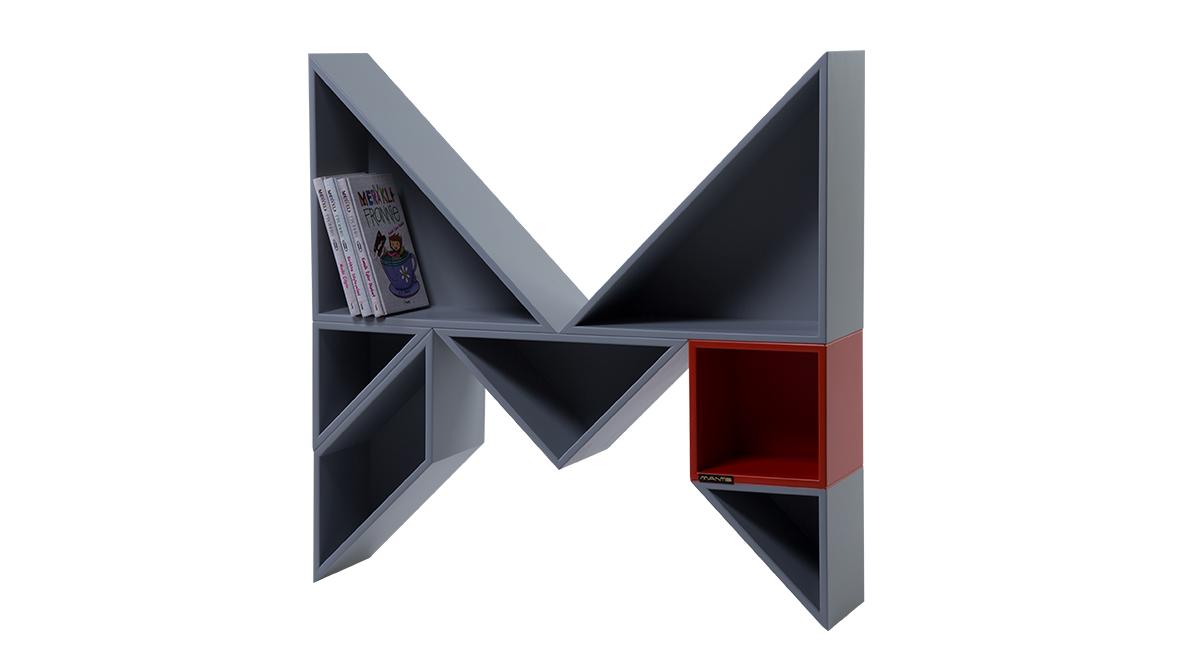 Alphabet Bookshelf