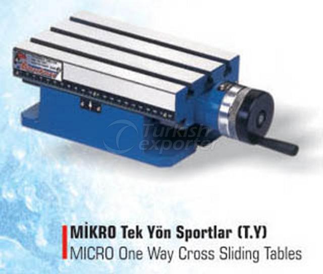Micro One Way Cross Sliding Tables
