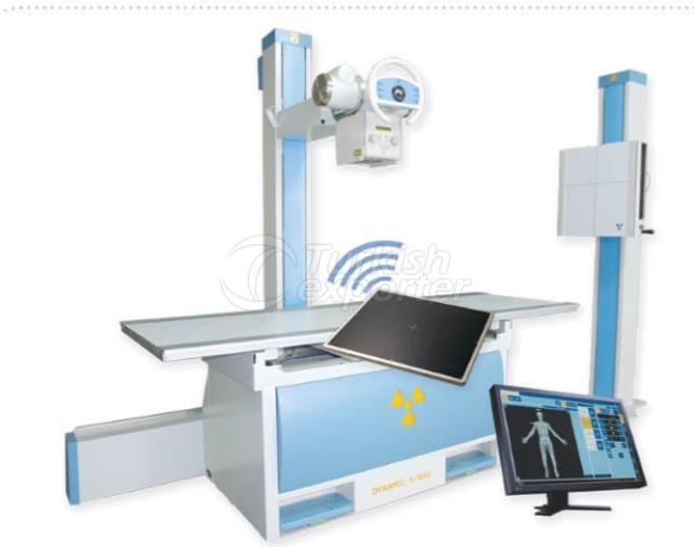 Tek Dedektörlü Yer Statifli Dijital Röntgen Sistemleri