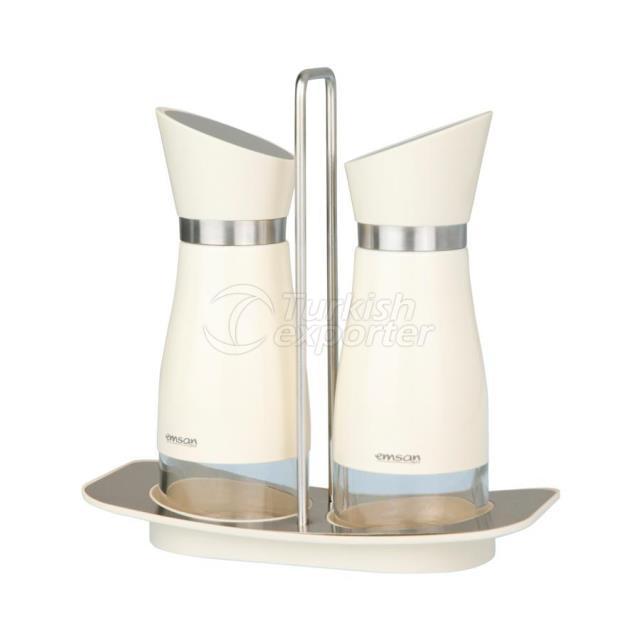 Emsan Verna Oil and Vase White