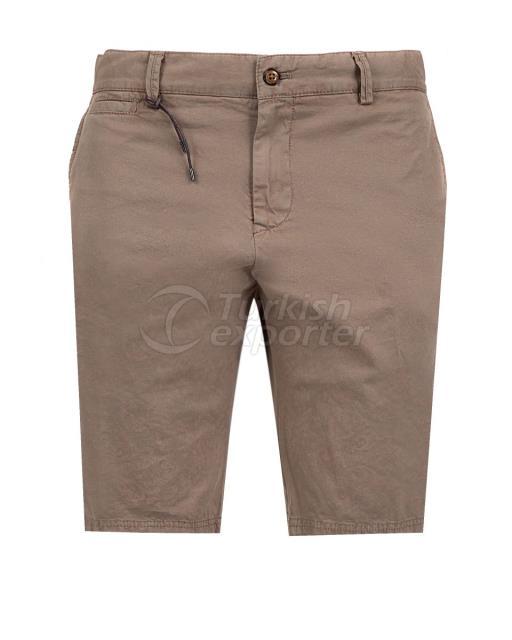 Slim Fit Pattern Vignette Short Pants