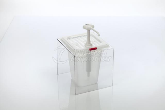 PP Ketchup Dispenser Single