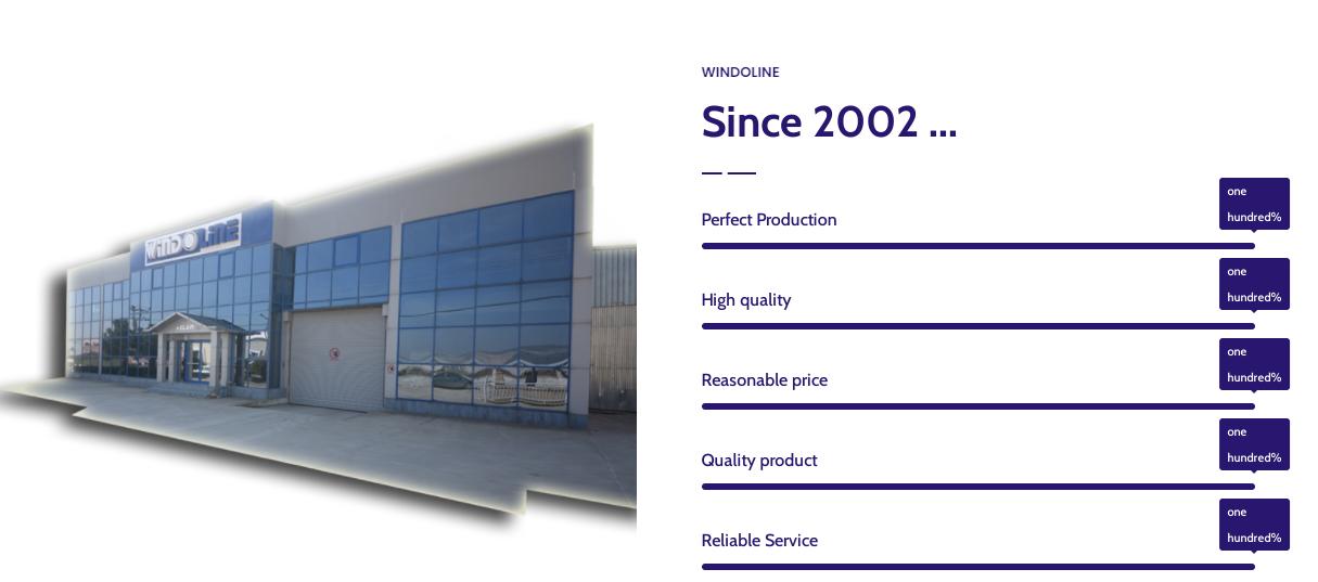 profile pvc made in windoline