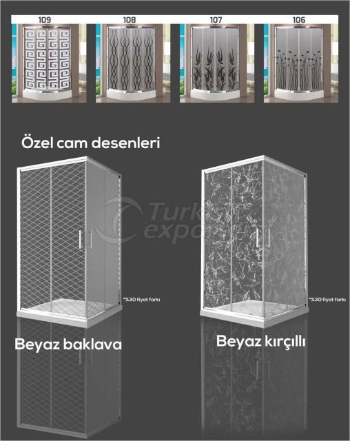 SHOWER CABINET GLASS MODELS 3