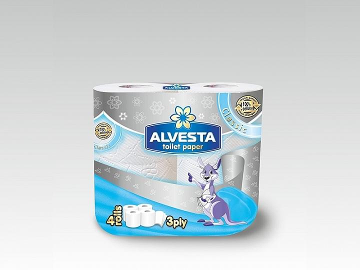 Toilet Paper – 4 Rolls – Classic