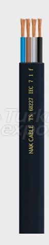 Câbles spéciaux 60227 IEC 7 1 F