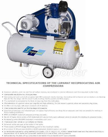 SINGLE STAGE RECIPROCATING AIR COMPRESSORS
