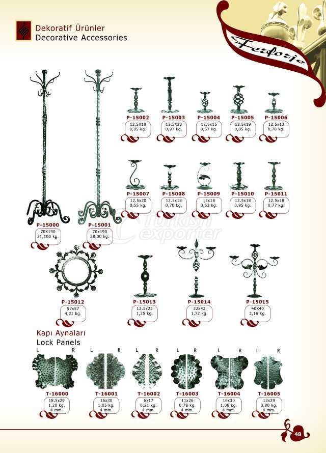 Produits décoratifs Accessoires décoratifs