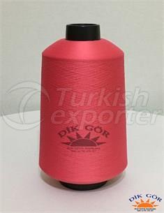 Renkli Tekstürize Polyester İplik 300