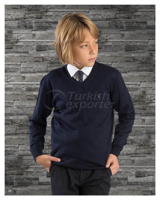 Свитер вязанный для мальчиков