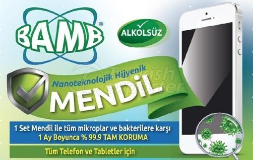 Anti-Bacterial Wipe BAMP