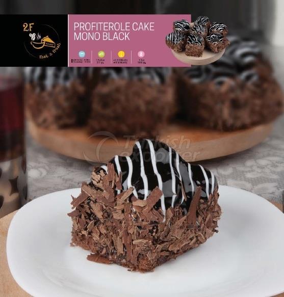 Frozen Profiterole Cake Mono Black