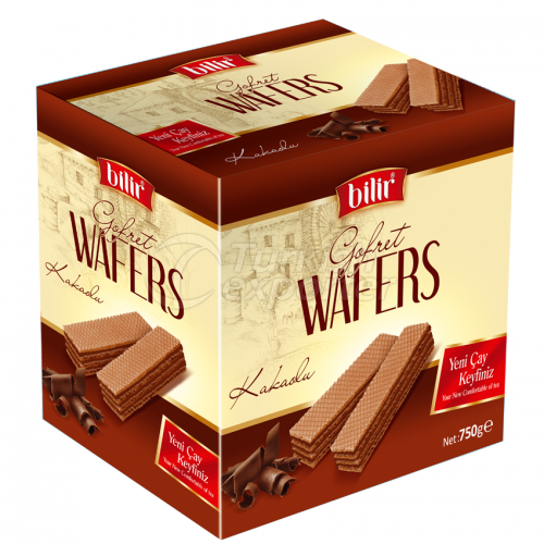 Gofret Wafer Cocoa Flavored 750 g